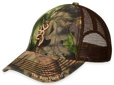 Browning 308367281 Men's Mossy Oak Break-Up Bozeman Mesh Cap One Size