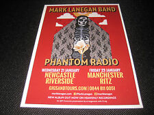 Mark Lanegan Phantom Radio Flyer Gig Memorabilia Concert RARE COLLECTIBLE