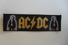AC DC superstrip Angus Powerage patch Sew On music