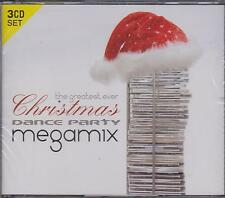 THE GREATEST EVER CHRISTMAS DANCE PARTY MEGAMIX - VARIOUS on 3 CD'S NEW