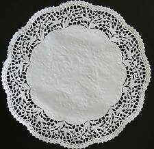 "*DOVES* DISCONTINUED WHITE PAPER LACE DOILIES 12"" OR 30cm*  X 24"