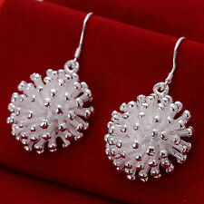 XMAS wholesale free shipping sterling solid silver firework earring YE481 +box