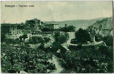 1933 Predappio - Vista dell'Ingresso Ovest di Predappio Monti - FP B/N VG