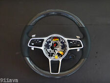 PORSCHE 991.2 718 BOXSTER OEM  NEW MULTI  FUNTION CARBON FIBER STEERING WHEEL