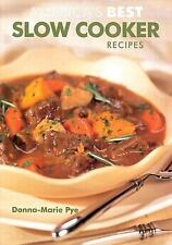 America's Best Slow Cooker Recipes, Pye, Donna-Marie, Good Book