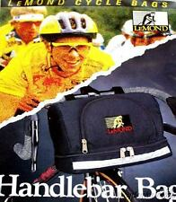 Lemond Deluxe Black Bicycle Handlebar Bag NEW!