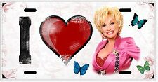 L@@K Dolly Parton  License Plate Vanity Auto Tag