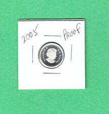 2005 Canadian 10 Cent Silver Dime From the Proof Set