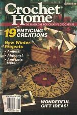 Crochet Home No. 38 Winter Projects Angels Afghans Poinsettia Decor & More