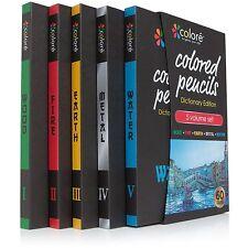 Colore Colored Pencils Dictionary Edition - 60 Premium Pre-Sharpened Color Penci