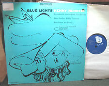 KENNY BURRELL Blue Lights Volume 1 BLUE NOTE BST81596 andy warhol RARE LP stereo