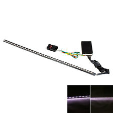 48-LED 7 Color RGB 56cm Flash Car Strobe Night Rider Light Strip Kit