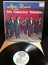 The Fabulous Treniers After Hours LP Hermitage Doo Wop Popsike  1963 SIGNED  Vg+