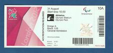 Orig.Ticket   Paralympics LONDON 2012 - LEICHTATHLETIK 31.08. / 11 Finals !! TOP