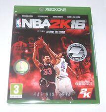 NBA 2K16 VIDEO JUEGO XBOX ONE SELLADO EDICION ESPAÑOLA BALONCESTO GASOL