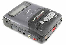 SONY MZ-R2 MD Walkman MiniDisc Recorder Disk ERROR For Parts Or Repair
