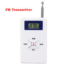 New FM Transmitter 70MHz-108MHz Personal FM Radio Station Stereo Audio Converter