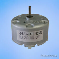 Mabuchi RF-500TB-12560 Mini DC Motor DC 1.5-12V 2700RPM 32mm Diameter DC Motor