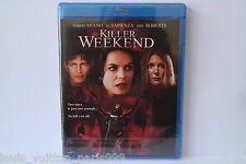 KILLER WEEKEND BLU RAY DISC BNEW SEALED