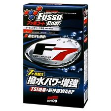 SOFT99 Fusso Coat F7 Black & Dark Made in Japan Coating agent Wax Europe on stk