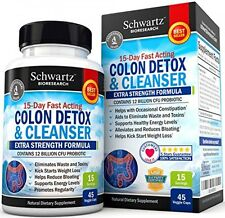 Colon Cleanser & Detox for Weight Loss. 15 Day Extra Strength Detox Cleanse