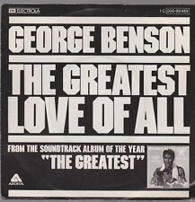 "7"" George Benson The Greatest Love Of All / Michael Masser Ali`s Time 70`s EMI"