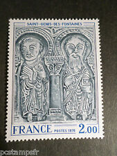 FRANCE  1976, timbre 1867, TABLEAU, ART, LINTEAU ST GENIS, neuf**, PAINTING MNH
