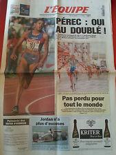 journal  l'équipe 12/07/96 CYCLISME TOUR DE FRANCE 1996 GONZALES PEREC