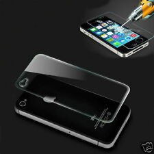 100% Genuino Protector De Pantalla De Vidrio Templado Frontal + Trasera Film Apple Iphone 4s 4
