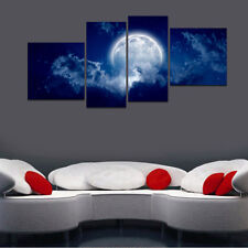 HD Canvas Print Home Decor Wall Art Painting Picture-Night Sky Moon Unframed#L28