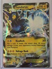 Pokemon Thundurus Ex Roaring Skies 26/108 Half Art Holo Mint
