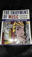 The Enjoyment of Music by Joseph Machlis and Kristine Forney (2007, Paperback)