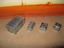 Star Wars G.I. Joe Custom Cast Diorama Parts 3.75 Scale Figures Crates Set of 4