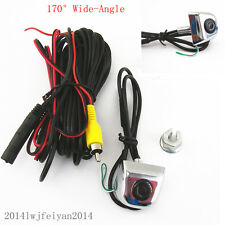 170°Wide Angle Car License Screw Mini Camera For BMW Rear View Reverse Parking