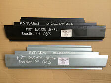 FIAT Ducato Talbot Express Camper Pair of OUTER DOOR SILLS 1x Left Sill 1x Right