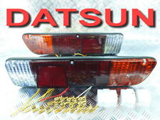 A PAIR REAR OF TAIL LIGHTS LH  RH FIT FOR DATSUN 620 PICKUP TRUCK