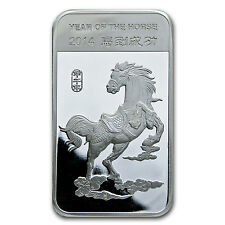 10 oz Year of the Horse Silver Bar