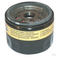 Genuine Briggs & Stratton Oil Filter (low profile) 492932 for ride on lawn mower