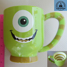 New Authentic Disney Parks Monster University Mike Wazowski Green Coffee Cup Mug