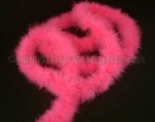 "75g Hot PiNk marabou feather boa 2""W 10Yard *For Trim*"
