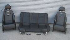 2006 Chevy Cobalt SS Black Leather Recaro SS Seats LF RF Rear W2E Option OEM