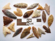 Neolithic Arrowheads x 20, High Quality Selection of Styles - 4000BC - (Z130)