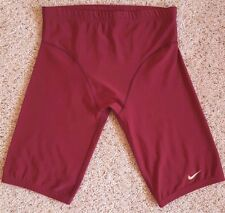 NIKE Shorts TIGHT Compression FOOTBALL Team USA Red MAROON Dri FIT Sz 4XL Size**