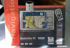 """3.5"""" Bluemedia BM-6380 Navi, KFZ-Navigationssystem, D+A+CH Karten, NEUW., LESEN"""