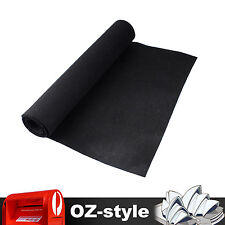 Black Car UTE Underlay Underfelt Sound Proof Sheet Tailgate Liner Carpet 2m x 2m