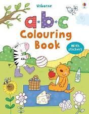ABC Colouring Sticker Book by Usborne Publishing Ltd (Paperback, 2010)