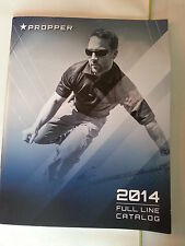 2014  Propper Full Line Catalog Booklet / Outerwear Bags Belts  / New / 59 Pages