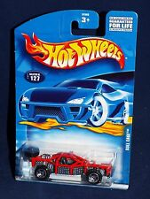 Hot Wheels 2001 Mainline Release #127 Roll Cage  Red w/ ORSBs