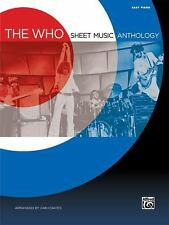 The Who Sheet Music Anthology: Easy Piano, Coates, Dan, Who, The, New Books