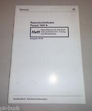 Werkstatthandbuch VW Passat Eigendiagnose Automatisches Getriebe 01V 5 G Syncro